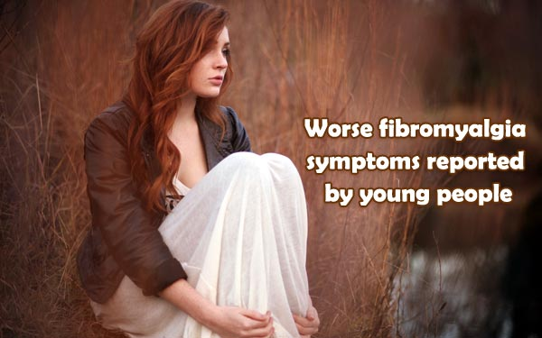 Worse fibromyalgia symptoms reported by young people