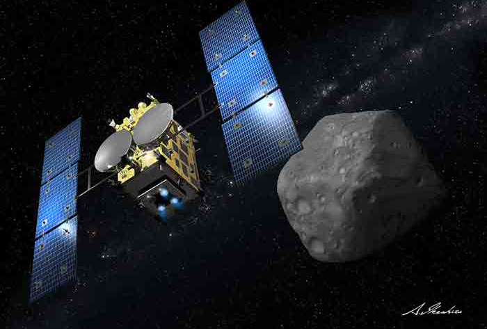 UPDATE: JAXA's Hayabusa-2 Asteroid Mission Lifts Off