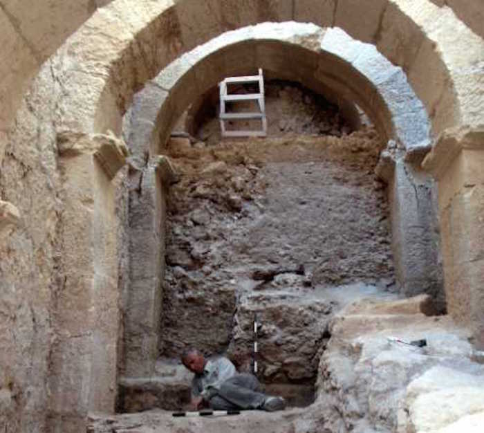 Archaeologists discover royal passageway to King Herod's palace