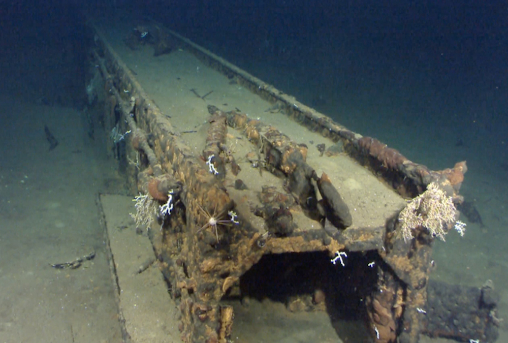 Microsoft co-founder finds sunken WWII battleship