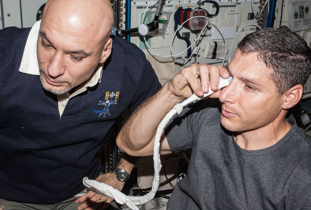ISS experiment: Why does space change vision?