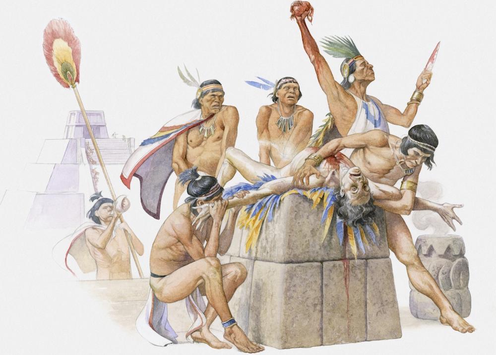 mayan religious practices