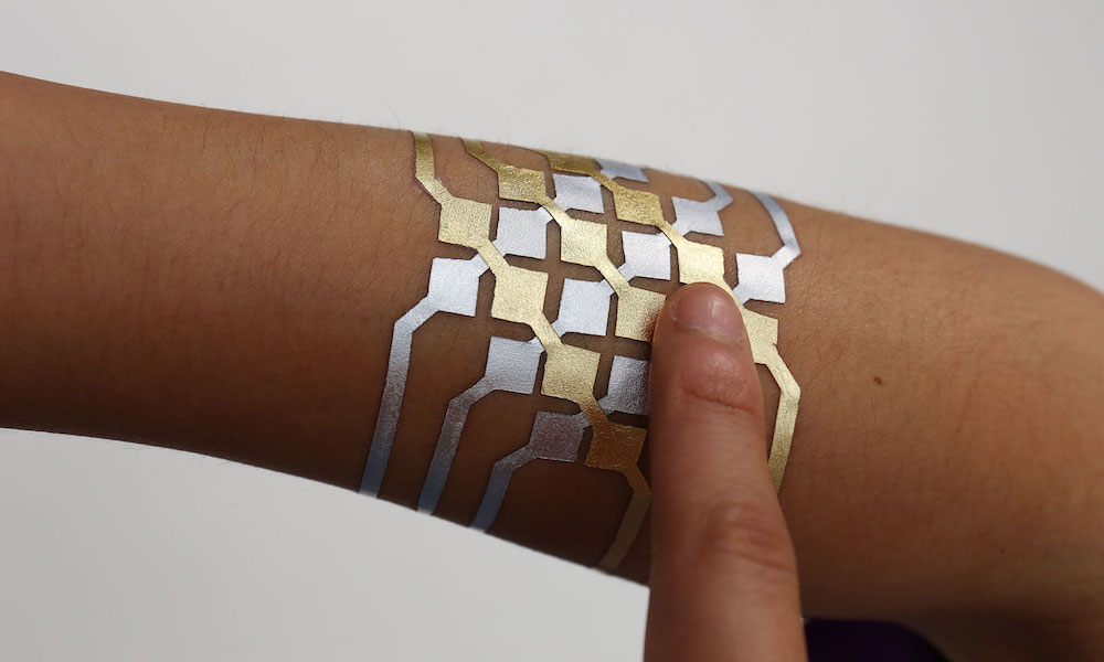 New temporary tattoo lets you control your phone from your wrist