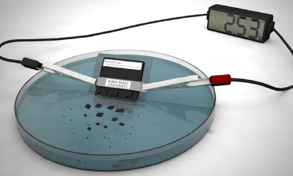 Team creates self-destructing battery