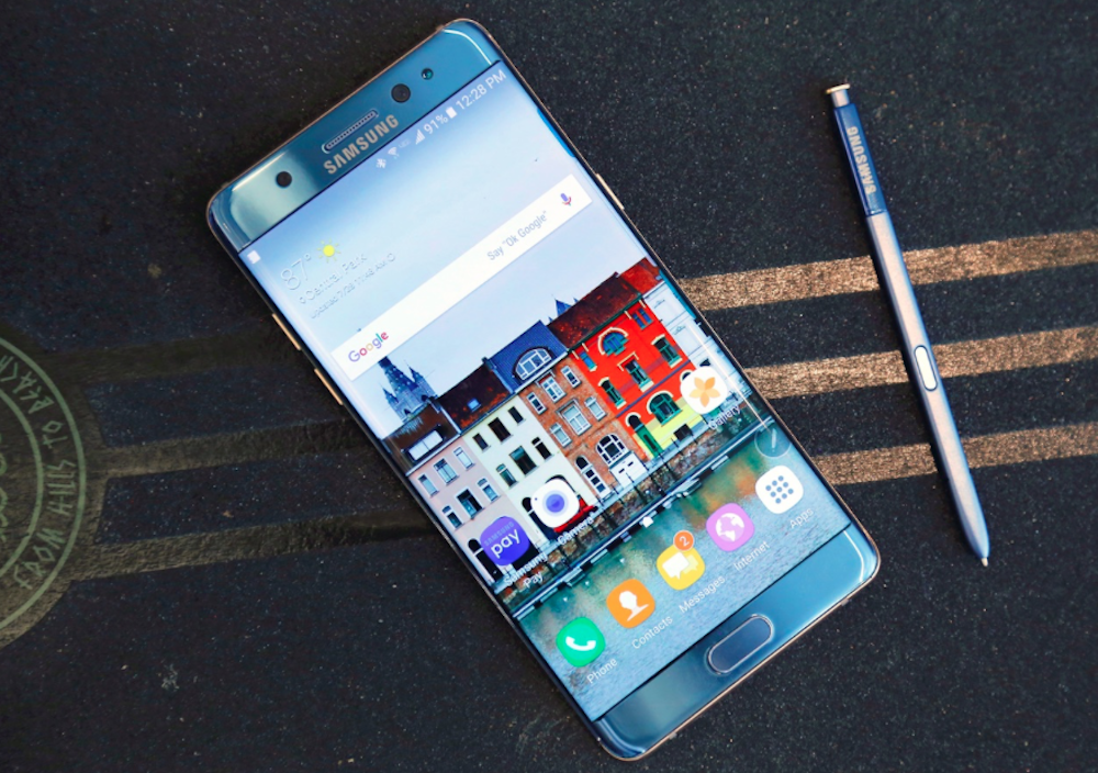 Samsung announces global recall of the Galaxy Note 7