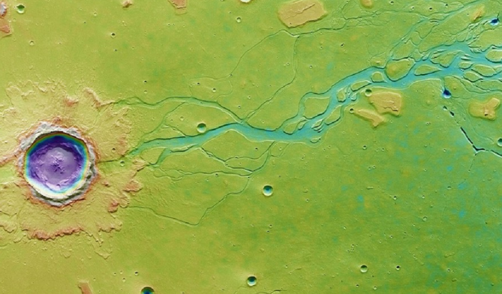 Giant water deposit could be the key to a base on Mars
