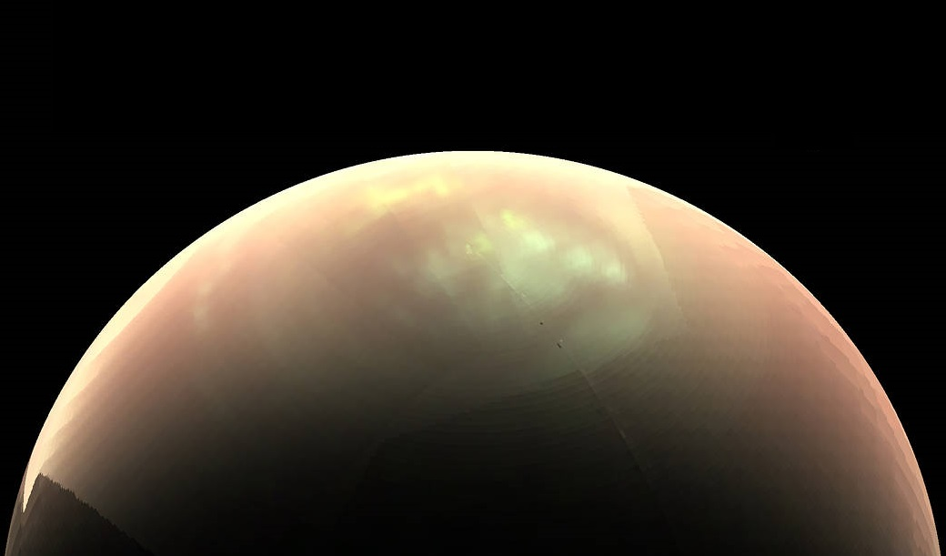 NASA discovers 'weird clouds' lingering on Saturn's moon Titan