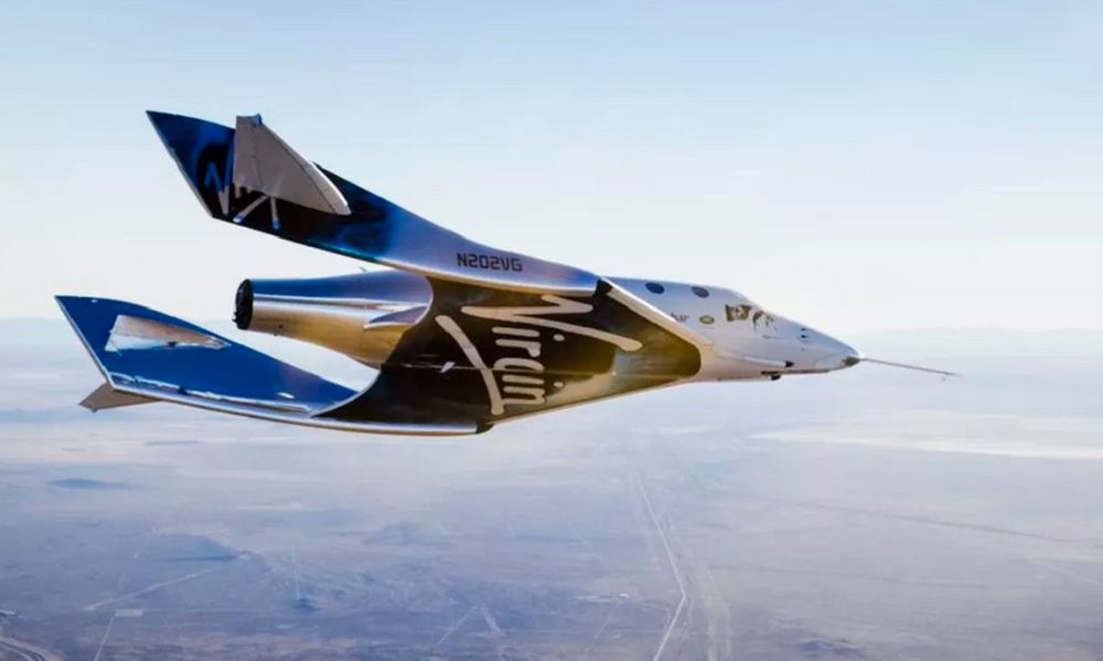 Virgin Galactic's new spaceship completes first test flight