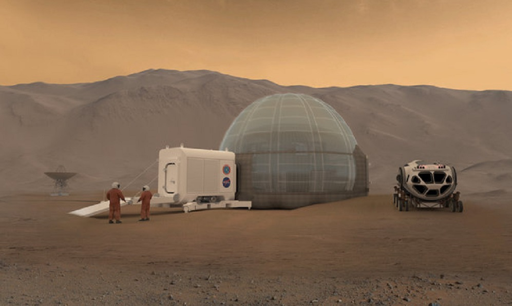 Could ice domes be the key to keeping us safe on Mars?