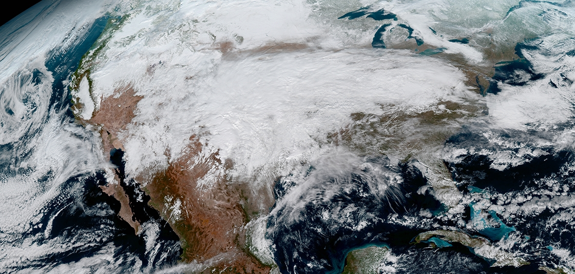 Amazing images returned from new NOAA weather satellite