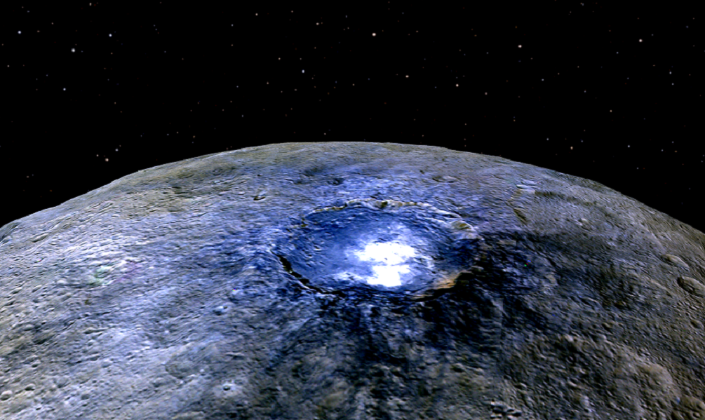 Dwarf planet Ceres contains the building blocks of life