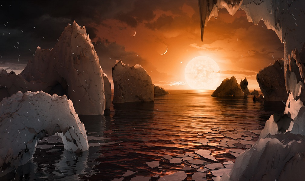 NASA announces discovery of seven habitable exoplanets around one star