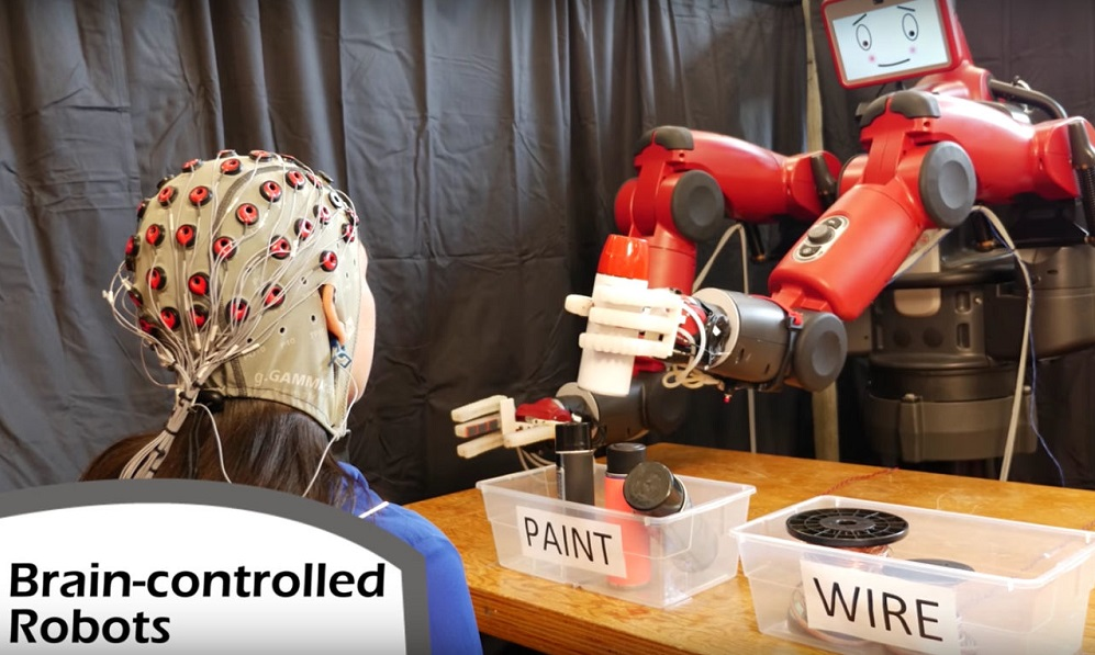 MIT creates robot you can control with your brain