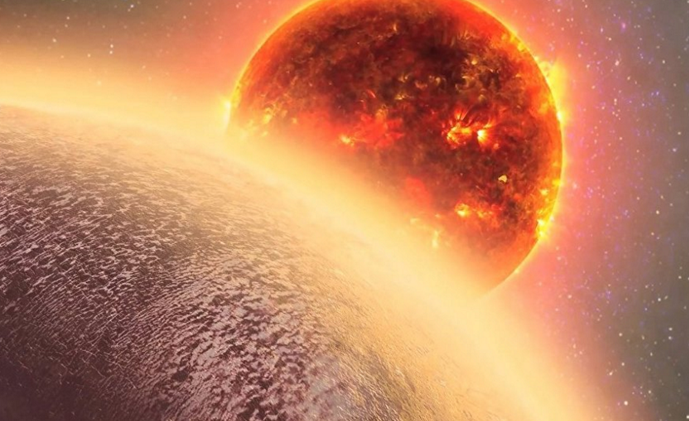 Atmosphere discovered around 'super Earth' for the first time ever