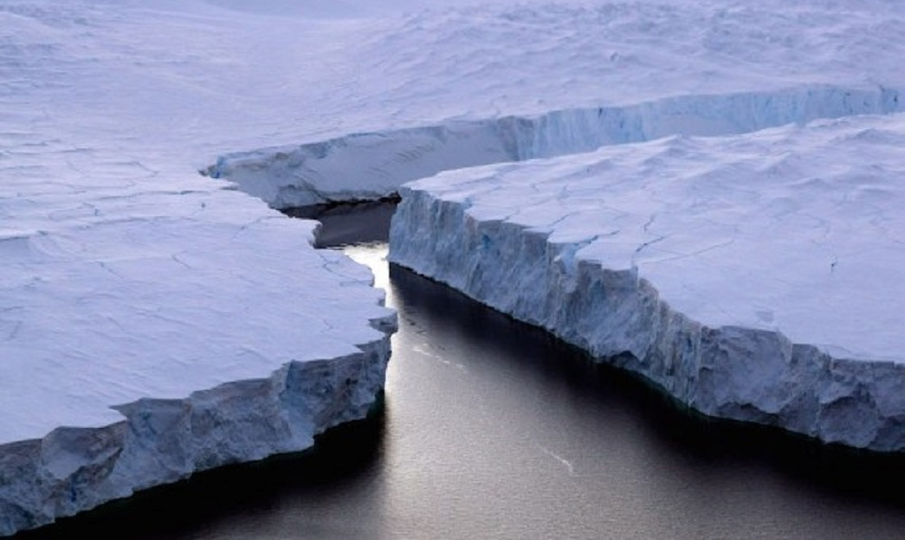 Scientists report ice shelf melt the size of Texas in Antarctica