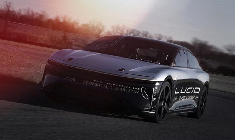 VIDEO: Watch Lucid Motors' electric car hit 235 miles per hour