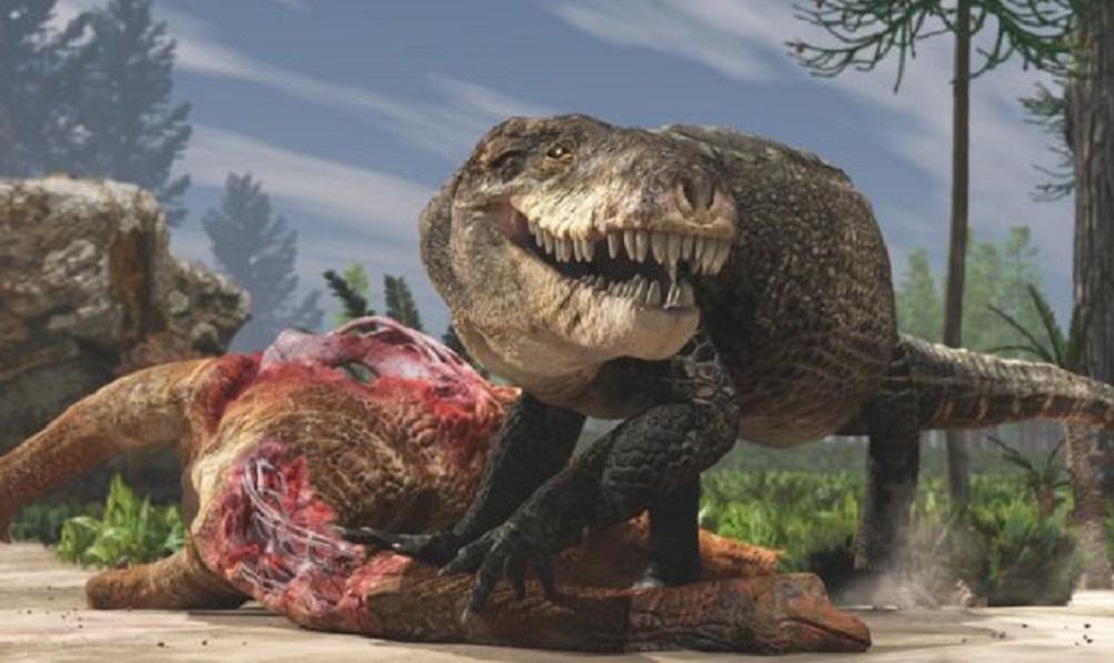 Ancient species of 'supercroc' had serrated, T. Rex-like teeth