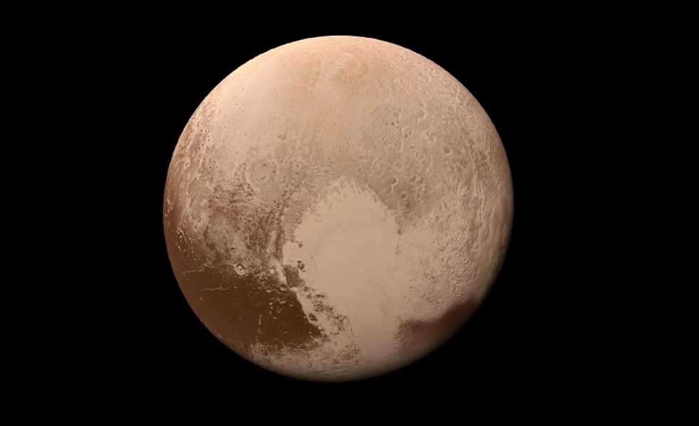 VIDEO: NASA releases new Pluto flyover animation