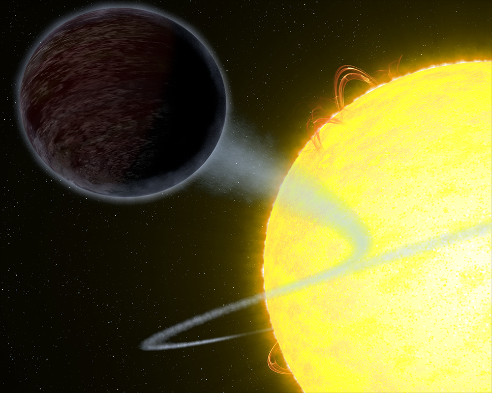 Astronomers discover extremely hot, pitch-black exoplanet