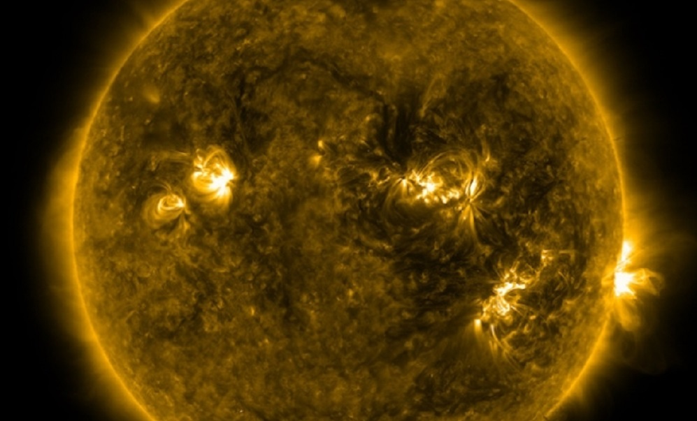 NASA detects strongest solar flare in more than a decade